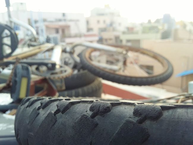 City Built Structure Close-up Outdoors No People Cityscape Horizontal Day Architecture Building Exterior Sky Bicycle Tyre Selective Focus Follow4follow F4F Enhanced Nofilter Hey guys, please follow me, thanks... Insta @ vshn_prdp tumblr @ crazyguy2k