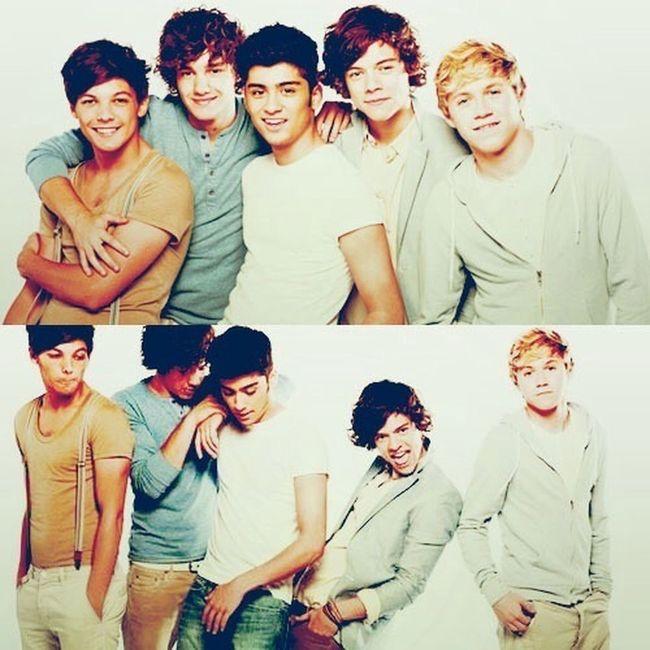 Louis, Liam, Zayn, Harry , Niall