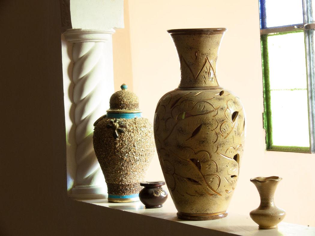 tiskji,immouzer,agadir,morocco Art And Craft Close-up Creativity Day Decorative Urn Home Interior Horizontal Indoors  No People Table