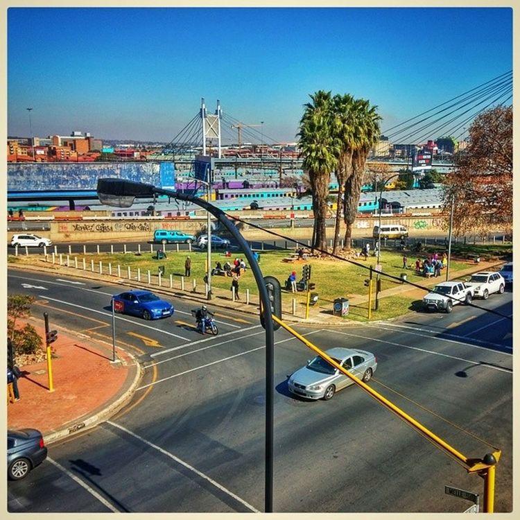 Braamfontein view ExploringJozi