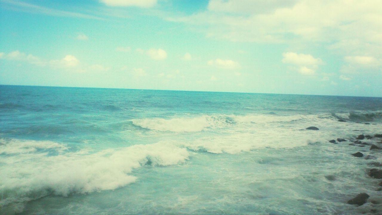 Sea Landscape Waves