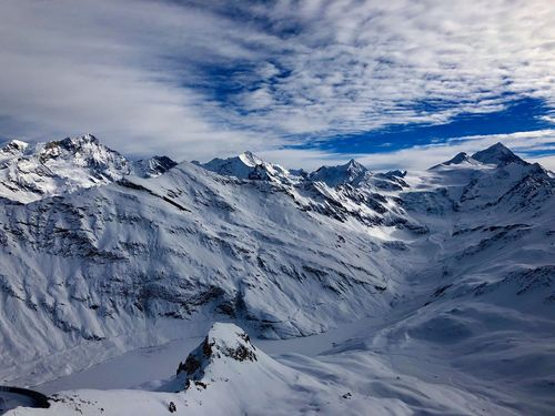 Nice View Swissalps Valais Valdanniviers Grimentz Zinal Beauty In Nature Tranquility Landscape Outdoors Shades Of Winter