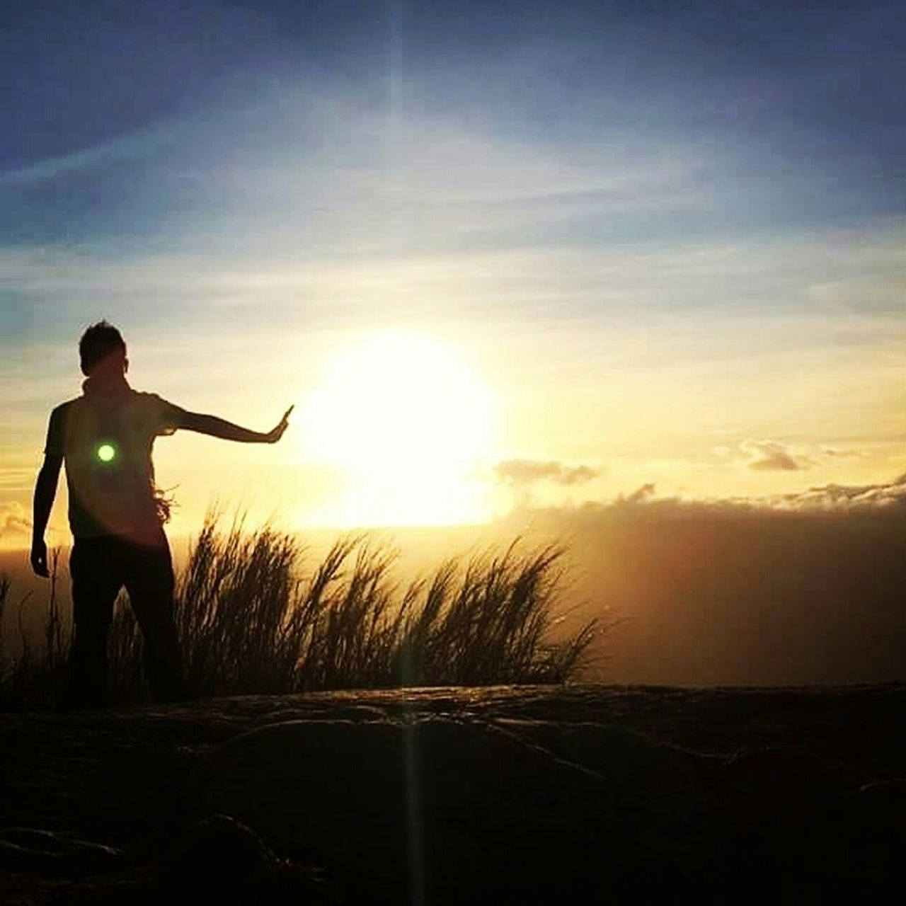Nature Full Length Weapon Outdoors Summer One Person Adult Silhouette Sky Sunset TravelPhilippines TrekkingDay Nature Standing Vacations Trekking Adventure Hiking