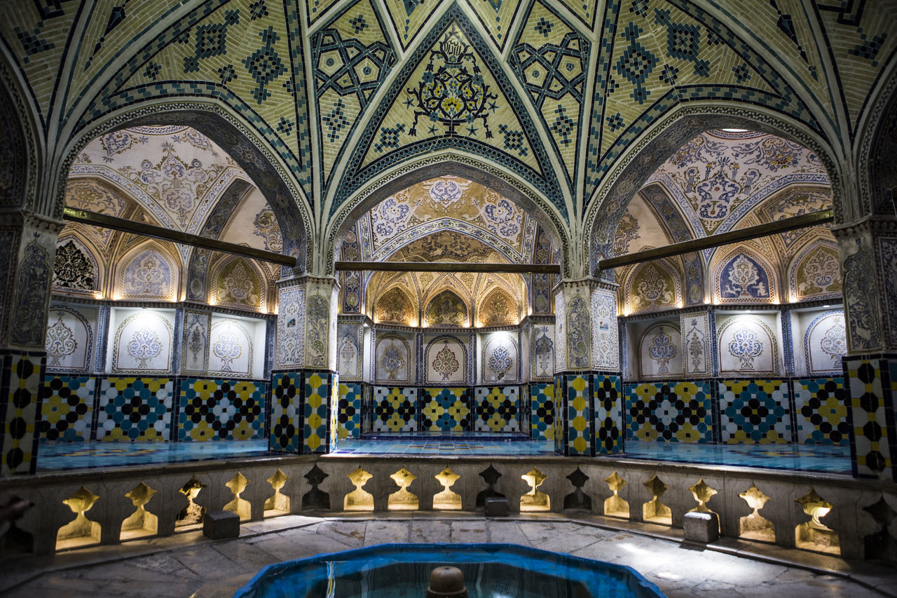 This building is historical bathroom and made in Qajar Age . Before 1800 . Arch Architecture Architecture Built Structure Historical Historical Building History Indoors  Iran Kashan No People Soltan Amir Ahmad Bathroom The Architect - 2017 EyeEm Awards The Great Outdoors - 2017 EyeEm Awards Tourist Destination Travel Destinations Live For The Story
