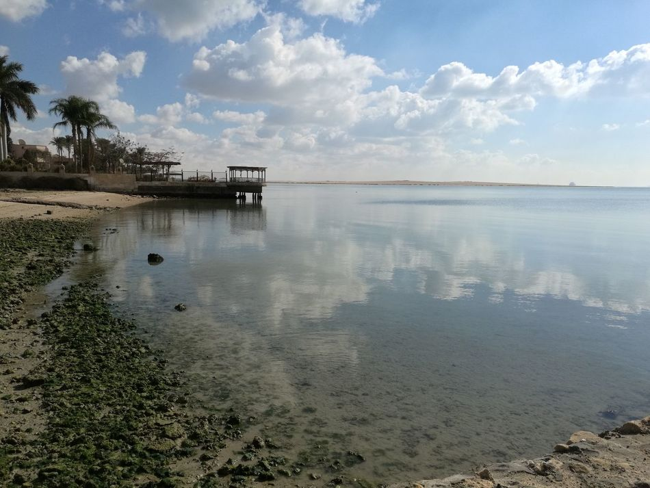 Sea Beach Cloud - Sky Sky Beauty In Nature Blue Summer Water Relax❤️ Abusultan Palma Hauweimate8 Tranquility Horizon Over Water Nature Reflection Scenics Landscape Outdoors Tranquil Scene Day Sunset Sunlight No People