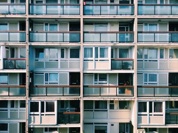 London flats Council Flats Flats Apartment Apartment Buildings Architecture Modern Architecture Modernist Modernism Uniform Windows Street Photography Building Building Exterior