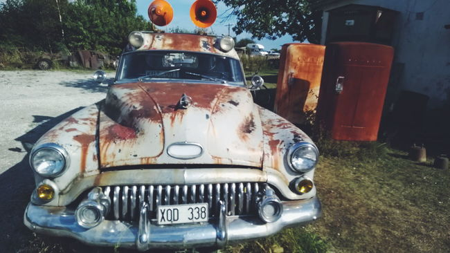 Abandoned American Cars Car Cars Communication Composition Control Faro Kutens Bensin Obsolete Old-fashioned Perspective Refrigerator Rusty Rusty Autos Rusty Goodness Rustygoodness Sweden Vehicle We Love The Old American Style