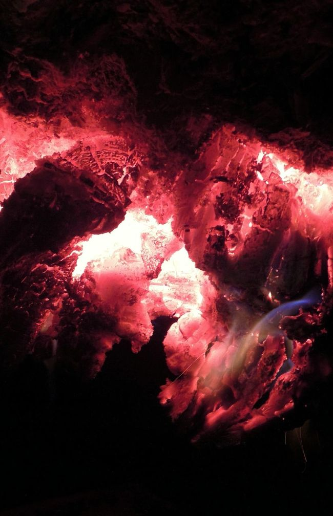 Fire Embers Hot Coals Faces In Fires Marco Beauty