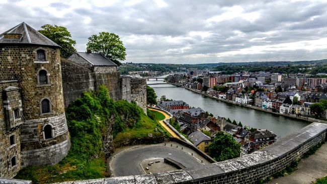 Water River City Travel Destinations Canal Fortified Wall History Tourism Castle Walls Castle View  Castle Roadtrip Adventures Houses By Water Majestic Bridges Fortress Citadel