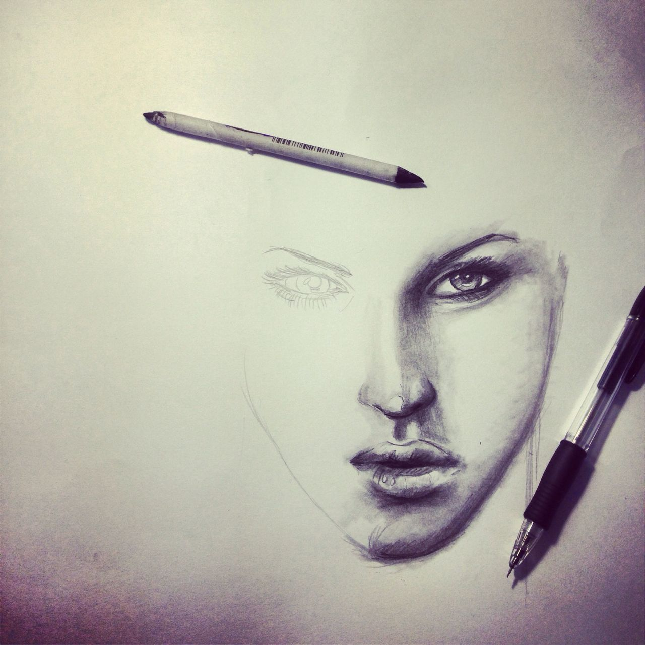Beautiful stock photos of sketch, Art, Close-Up, Creativity, Drawing