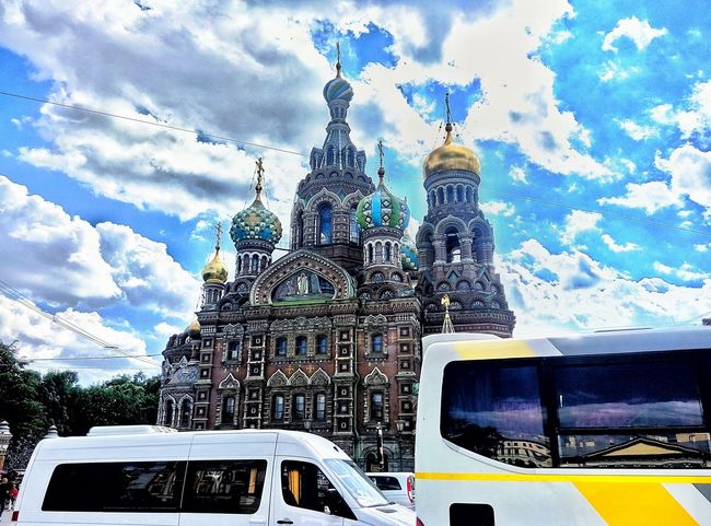 Enjoying Life Saint-Petersburg Russia Chearch Savior On The Blood First Eyeem Photo