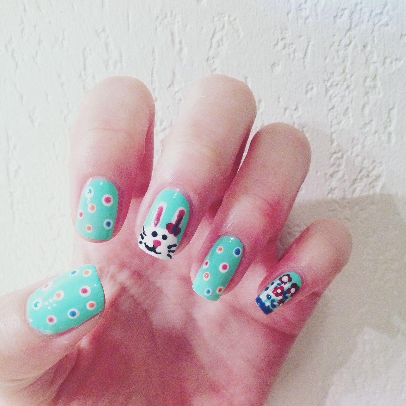 Happy Easter ! Nail Art Cute