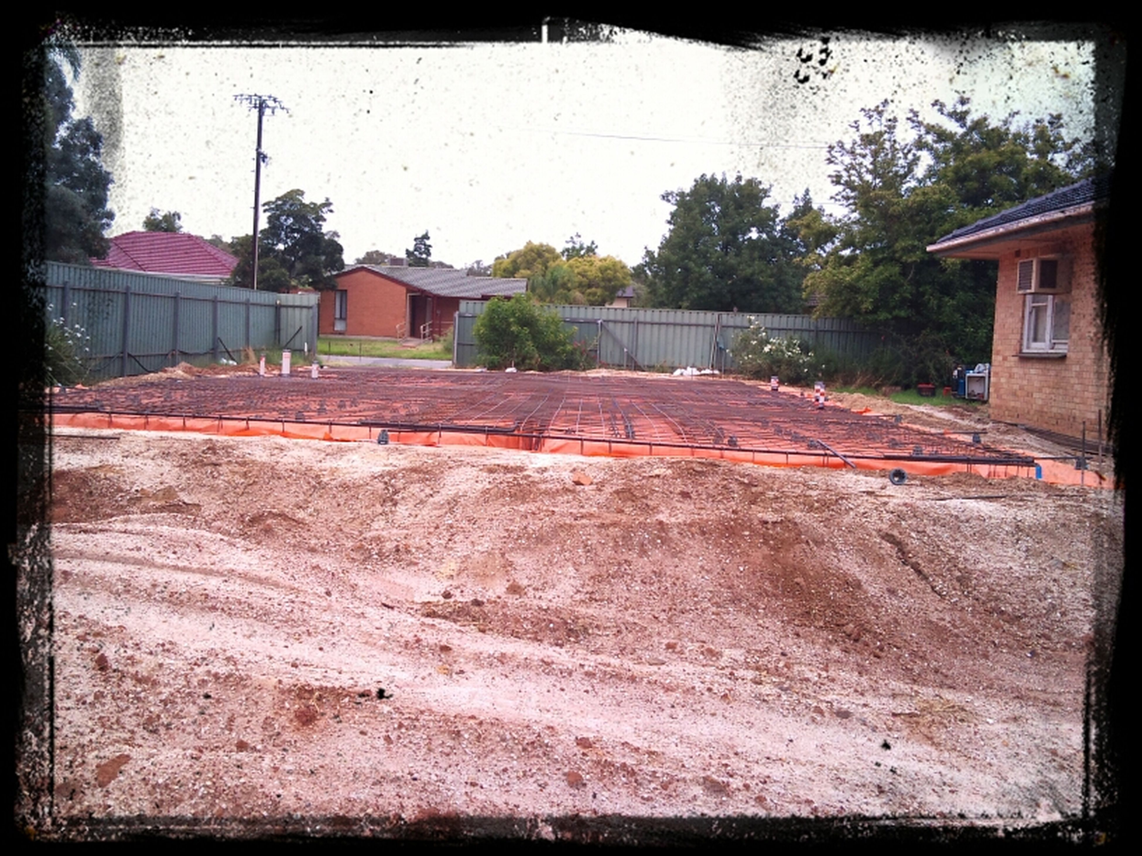 Footings Preparation