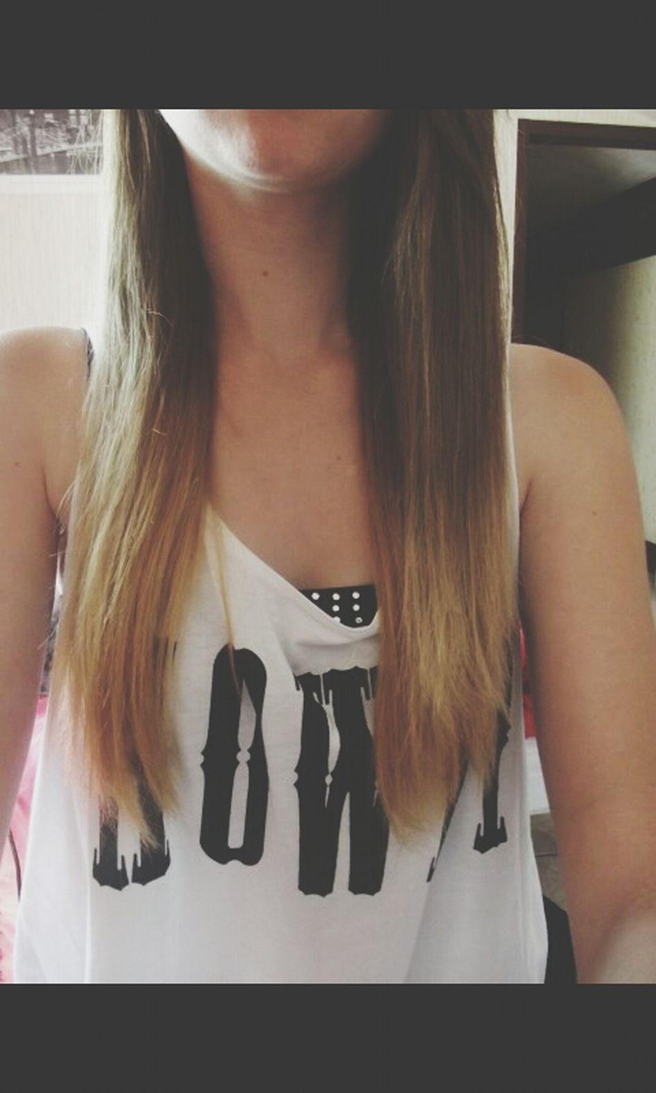 Hair Tye And Dye Blonde Brunette