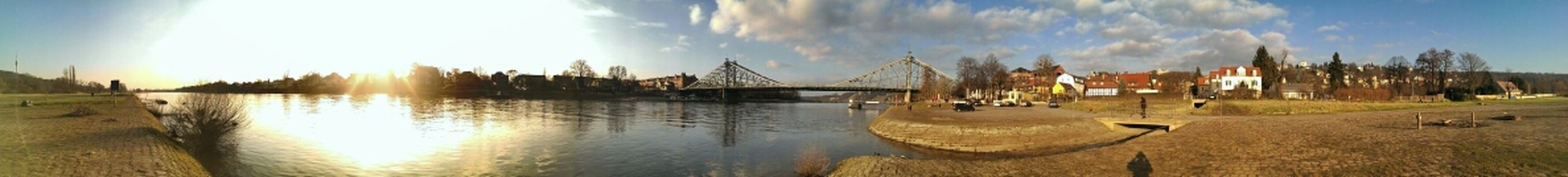 Elbe Panorama Bridge Nature_collection