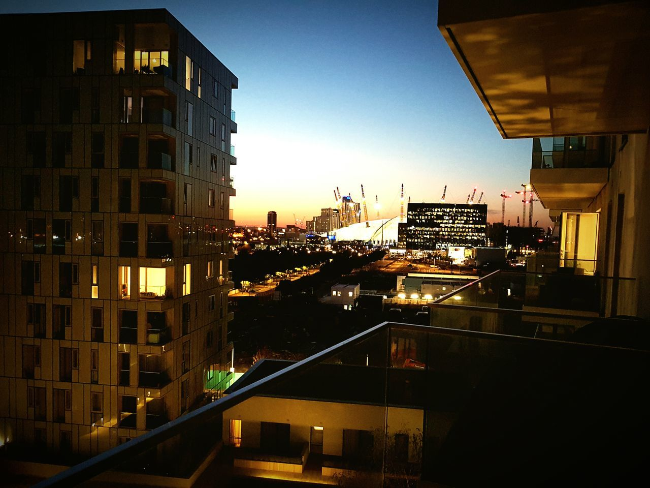 My Favorite Place Illuminated Architecture Building Exterior Built Structure City Night Residential Building City Life Cityscape Sky Outdoors Residential District Development Office Building Urban Skyline Tall - High No People Building Story Tail Light EyeEm Best Shots Eyeemphotography O2 Arena North Greenwich London