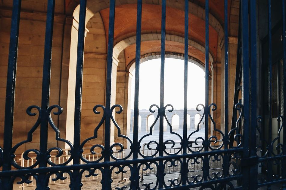 The Secret Spaces Gate Wrought Iron Railing Metal History Window Indoors  Day Architecture Built Structure No People Metal Grate Cast Iron Prison Security Bar Close-up