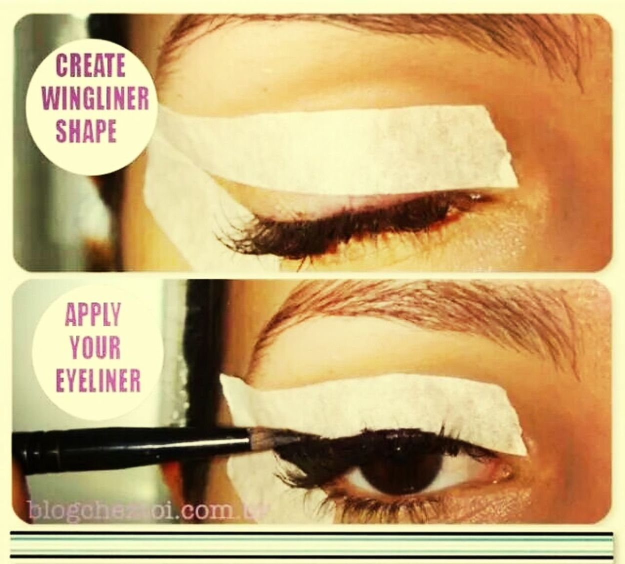 The Struggle Is Real Winged Eyeliner Eyeliner <3 FML Lol