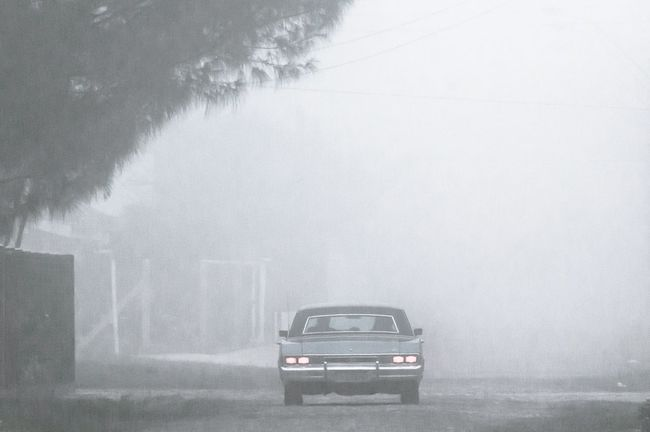 Carry on my wayward son Check This Out Taking Photos Street Photography Street Hello World Enjoying Life Outdoors Getting Inspired Foggy Day Fog Brasil EyeEm Gallery Nature Car Composition Fine Art Eye4photography  Landscape Light And Shadow Light Road Car And Nature EyeEm Best Shots Love