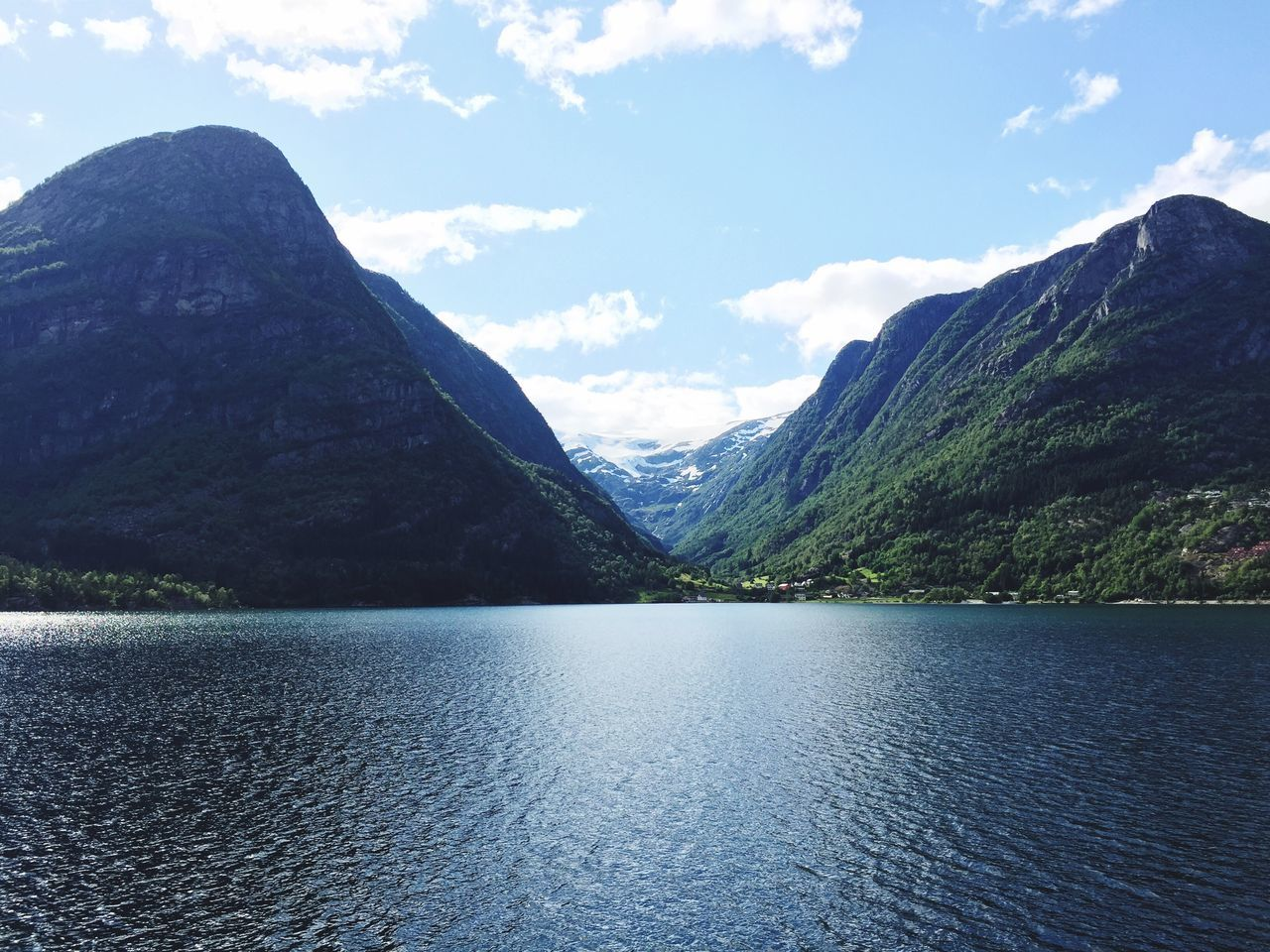 Beautiful stock photos of norway, mountain, scenics, tranquil scene, water