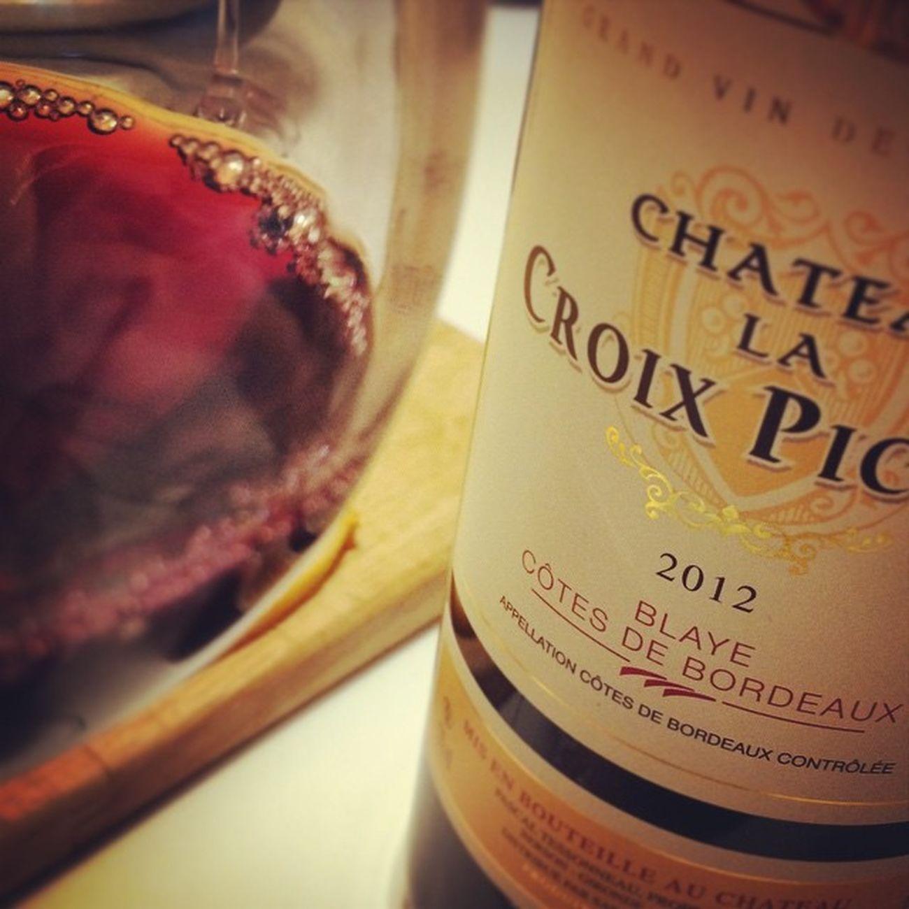 Côtes de Blaye. Wino Winolife Instawine Redwine Winestagram Blaye