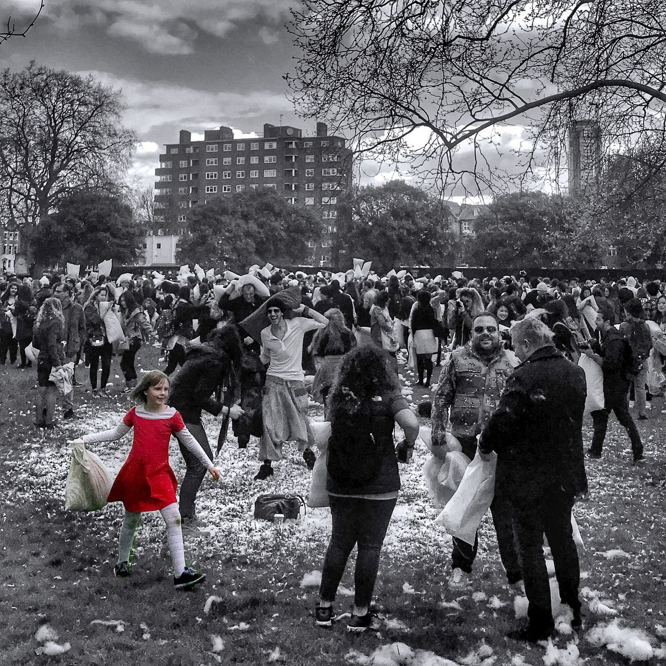 The Photojournalist - 2017 EyeEm Awards Pillow Fight International Pillow Fight London Large Group Of People Real People Fun London London Lifestyle Kennington