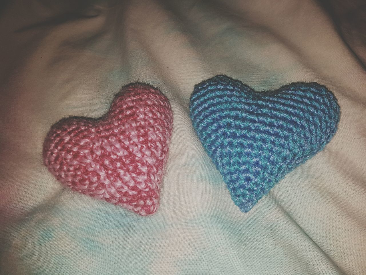 Heart Shape Close-up Multi Colored No People Indoors  Love Homemade Homemade With Love Crochet Hobbyphotography Art Is Everywhere Phone Photography First Eyeem Photo Pattern Craft Creating High Angle View