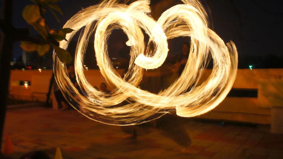 火舞… 留言裡有影片連結Taking Photos Hello World Relaxing Enjoying Life This Is LIFE Amazing SonyNEX5n Fire