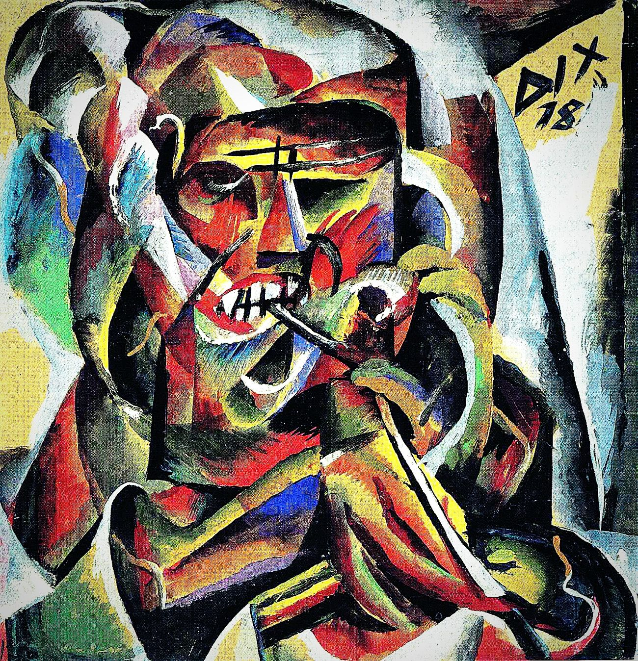 Otto Dix Historical Avantgarde Expressionism Art Gallery Art Museum Virtual Web Museum Of Contemporary Art Espressionism Espressionismo Tedesco Avanguardie Storiche ArtWork