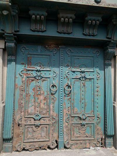 Game of Rust - Door Blue Iron Door Art And Craft Pattern Architecture Rusty Door Metal Metal Art Old Time Beauty