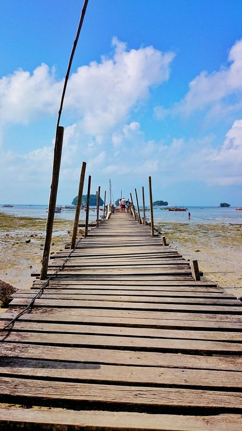 Bridging The Gap Mini Wharf Surigao Del Sur Philippines Brittania Nature_collection Nature Photography Beach Sea And Sky EyeEm Gallery EyeEm Nature Lover EyeEm Best Shots Eyeem Philippines