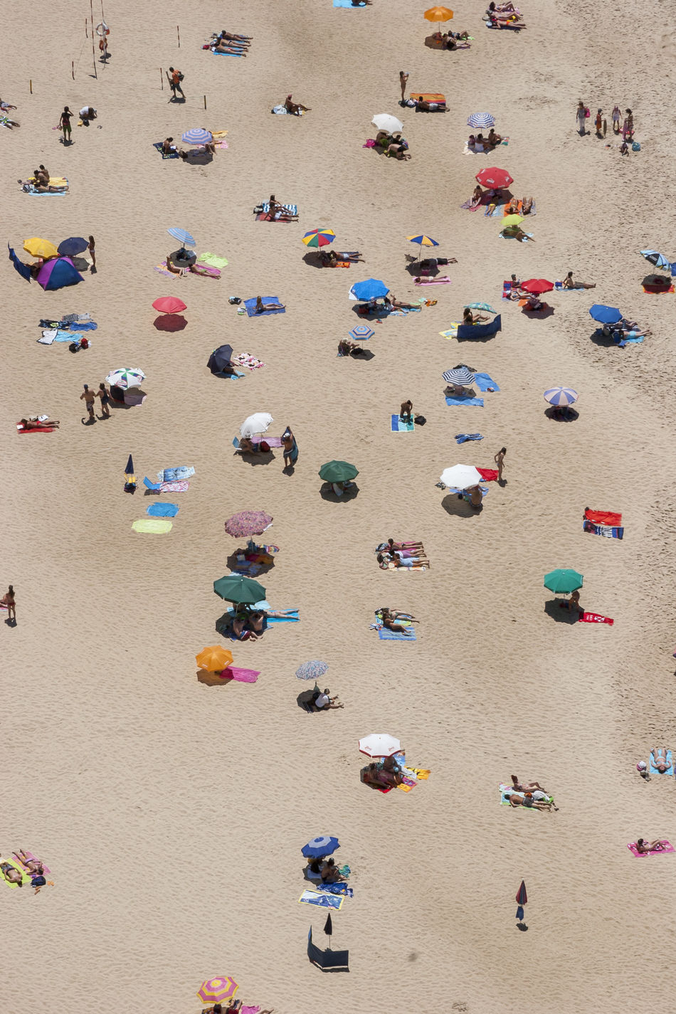Beautiful stock photos of summer, Beach, Colorful, Day, Elevated View