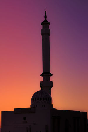 Mosque outline Architectural Column Architecture Building Exterior Built Structure Dome Exterior High Section Historic History Low Angle View Majestic Mosque No People Outdoors Outline Religion Romantic Sky Scenics Spire  Sun Sunset Tall Tall - High Tower
