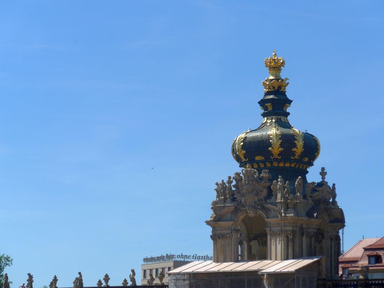 Architecture Barock Baroque Architecture Blue Sky Travel Destinations Zwinger Dresden Spire  Tower Splendor Baroque Splendor Your Ticket To Europe