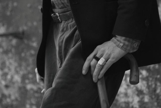Black & White Bridegroom Close-up Day Detail Human Body Part Human Hand Men Outdoors People Real People Walking Cane