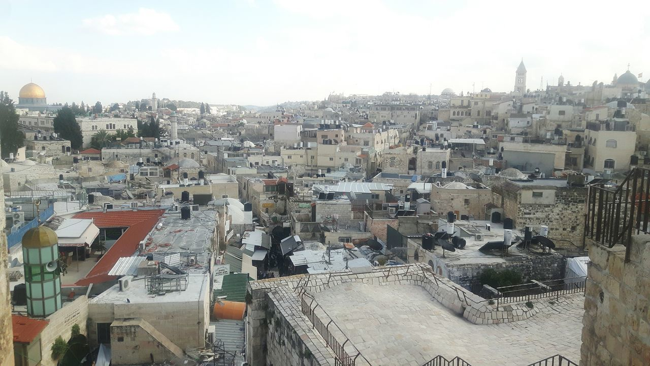 City Cityscape Architecture Travel Destinations Built Structure Roof No People Sky History Outdoors Day Mount Of Olives Temple Mount Dome Of The Rock Sightseeing Stadtmauer Jerusalem Stadtmauer Tourism Ramparts Walk Rampart Jaffa Gate Rampartswalk Jerusalem City Wall Ancient Rocks Jerusalem Ramparts