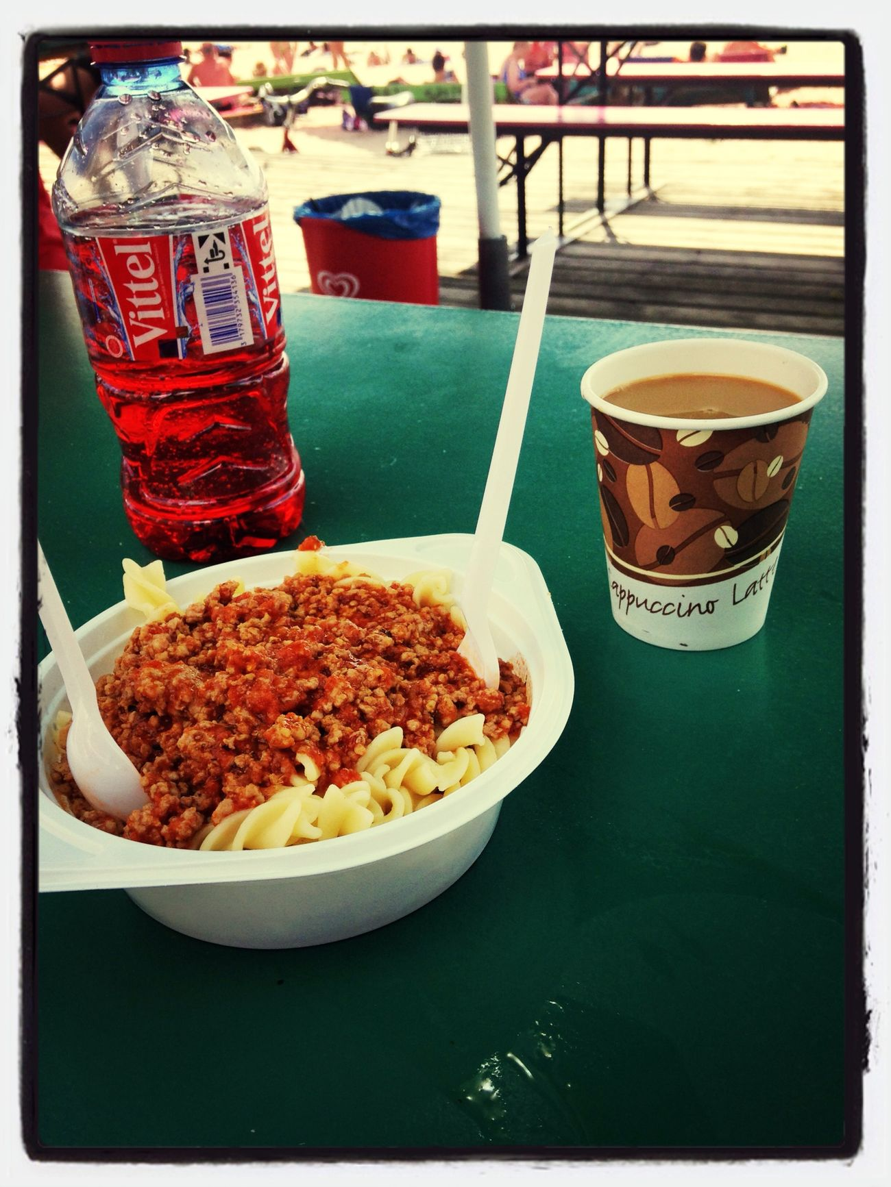 Pasta Coffee Beach Summer