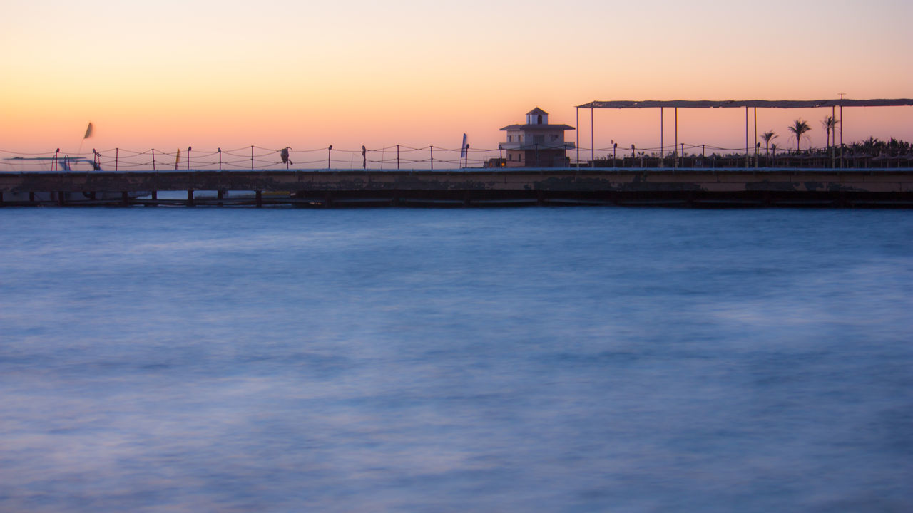 Beauty In Nature Boat Dock Dawn Dawn Of A New Day Day Longexposure Morning Light Nature No People Outdoors Scenics Sea Sky Sunrise Water