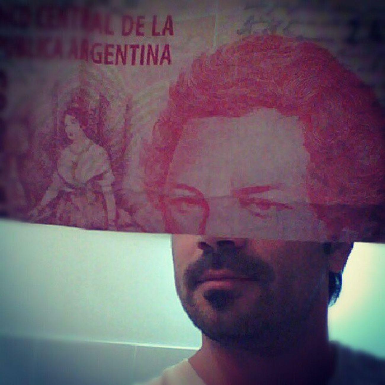 Moneyface Argentina Pesos 20pesos Dinero Plata