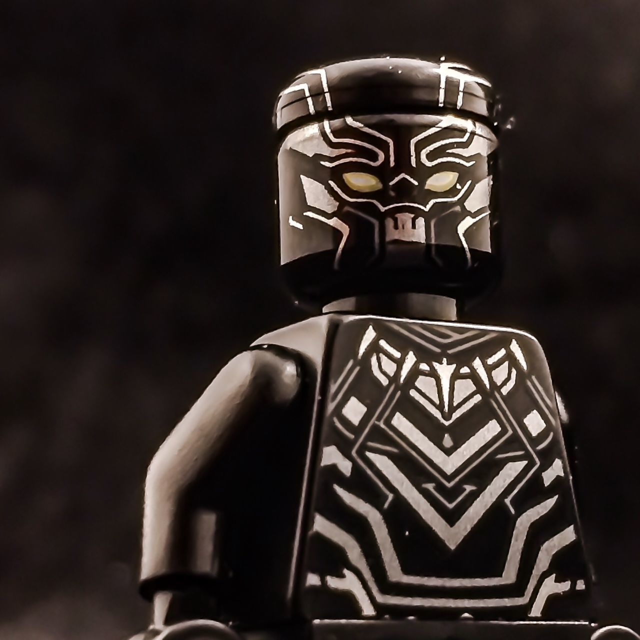 Black Panther. Toy Photography Toy Lego Minifigures Lego Photography LEGO Lightbox Marvel Lego Marvel Captain America Black Panther