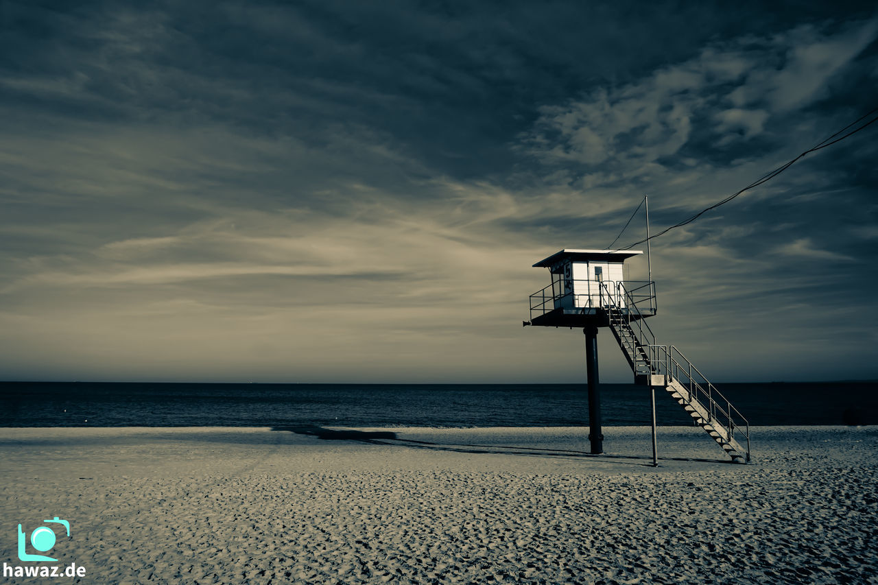 lonesome beach Beach Beauty In Nature Cloud - Sky Horizon Over Water Meer Nature No People Ocean Ostsee Sad Mood Sadness Sea Strand