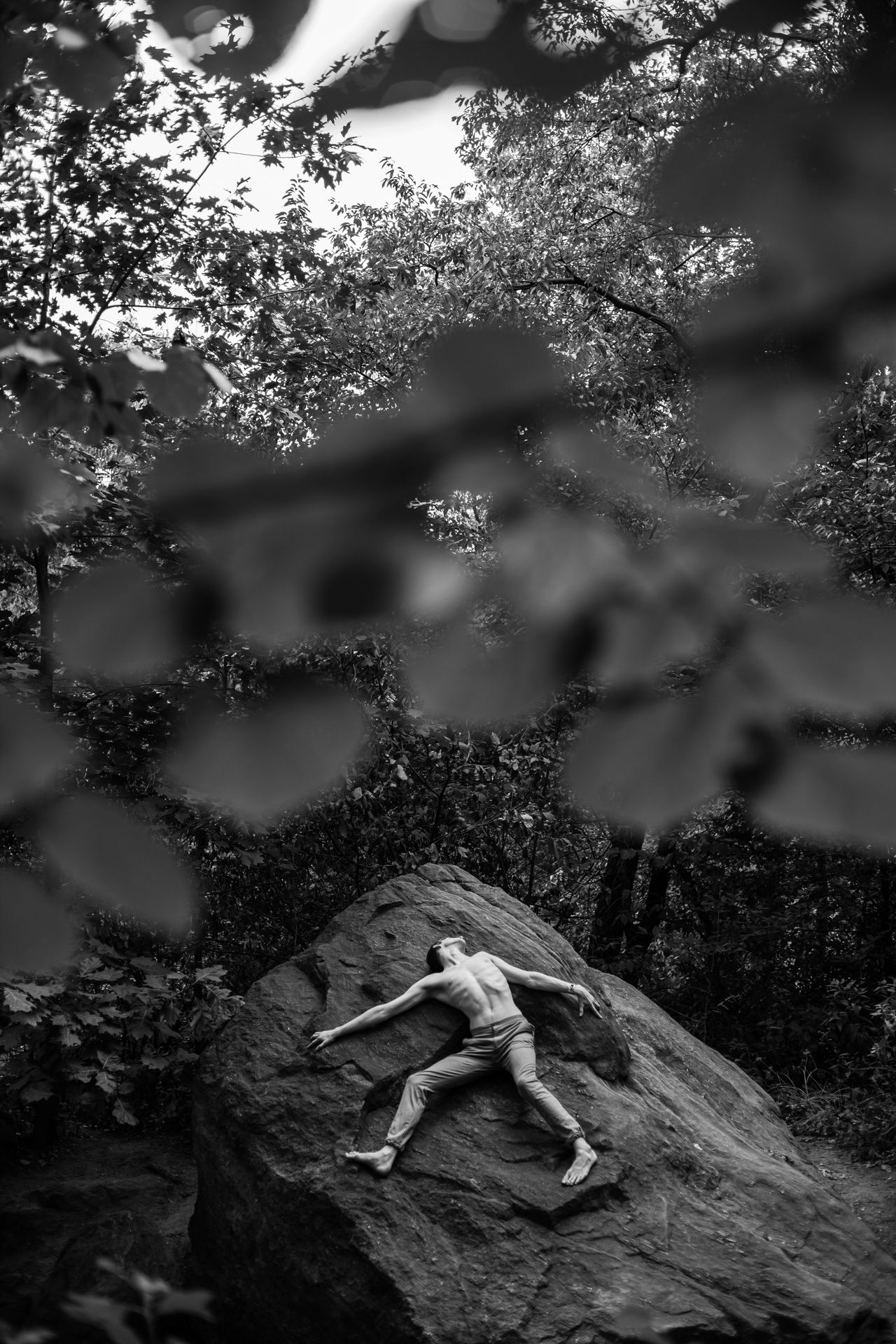 Nature One Person Outdoors Beauty In Nature Adults Only Natural Light Portrait NYC Portrait Photography The City Light EyeEmNewHere. Photooftheday Relaxation Black And White Photography Black & White Landscape Nycphotographer Artist EyeEmNewHere Welcome Weekly