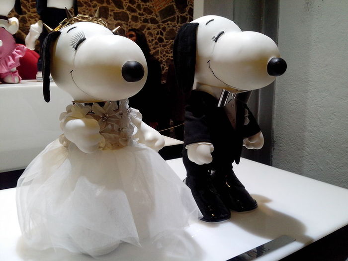Couple Design Designer  Kaviar Gauche Mexico City Mumedi Museum No People Snoopy Wedding