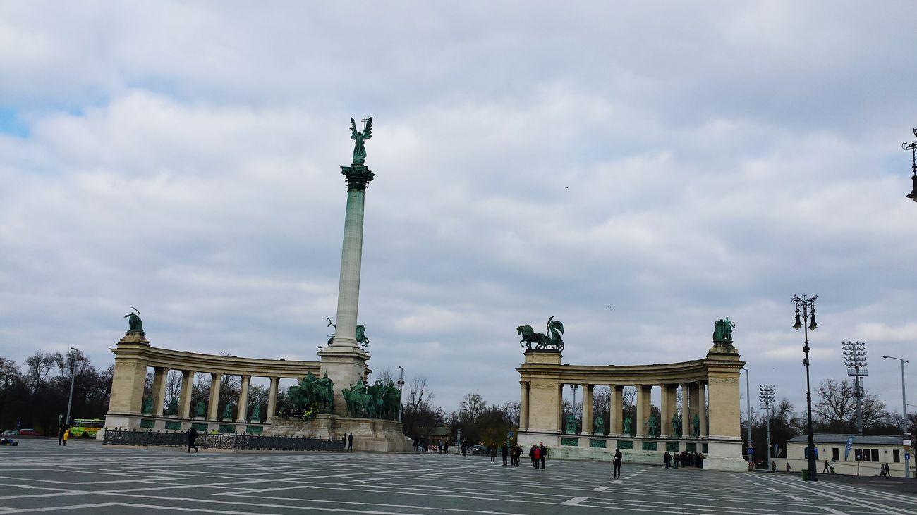 Hero Square Budapest, Hungary