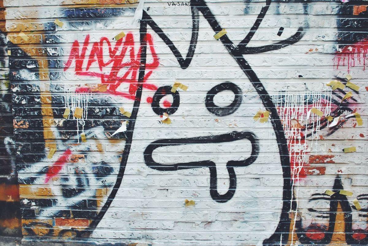 Graffiti Walking Around