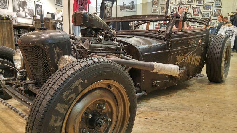 RatRod HotRod Affliction Wheels RAD Showcar Cars Las Vegas Rust Low Angle