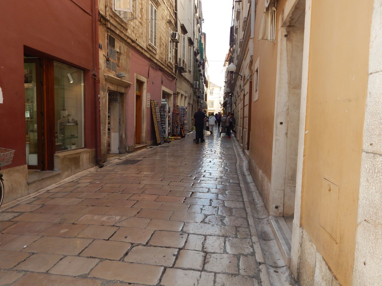 Walking in Zadar old town Architecture Building Exterior Built Structure City Day Historical Outdoors Sky