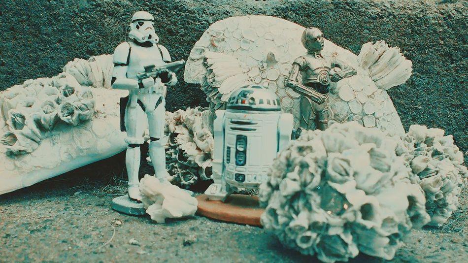 Star Wars C3po R2D2 Stormtrooper