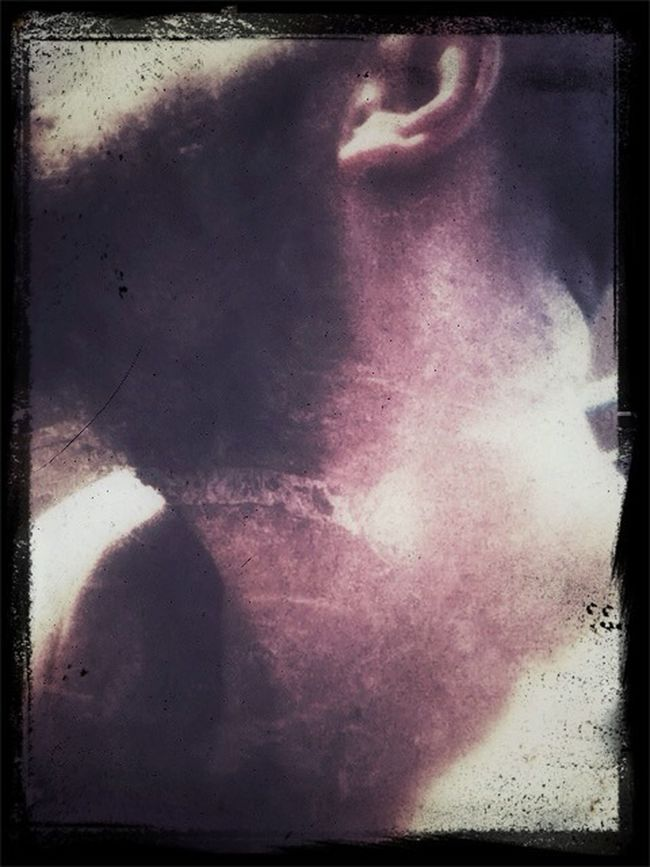 What? My neck? OK - here it is, complete with encroaching beard!......