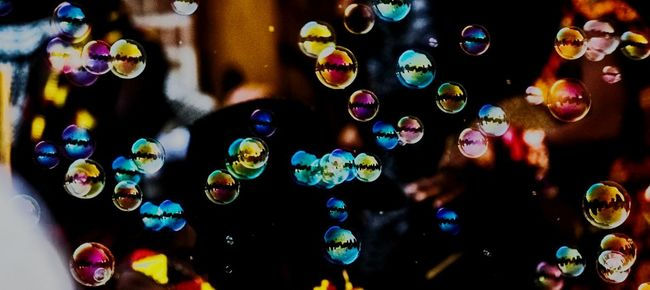Bubbblessss Illuminated Multi Colored Close-up Lighting Equipment Lens Flare Large Group Of Objects Circle Night Light Glowing Colorful Dark Outdoors Abundance Flying Focus On Foreground Geometric Shape No People Wedding Wedding Photography Wedding Photos Weddinginspiration Weddingday  Weddingphotography Love